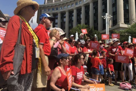 Activists demand change in DC during nationwide rally to end gun violence