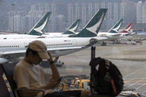 Airline, luxury brands follow China's lead on Hong Kong