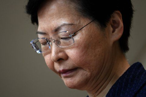 The Latest: Britain says Hong Kong consular employee missing