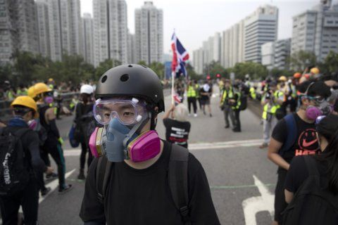 Hong Kong's 'front line' protesters explain their stance