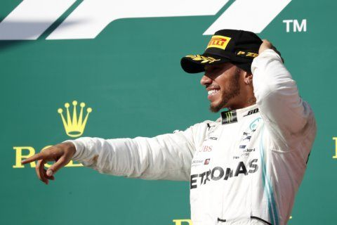 Hamilton's dominance continues as new main rival emerges