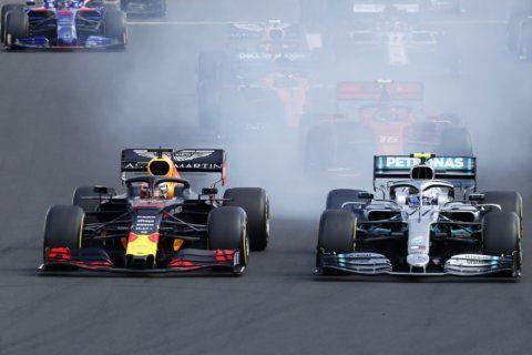 Predatory Hamilton hunts down Verstappen to win Hungarian GP