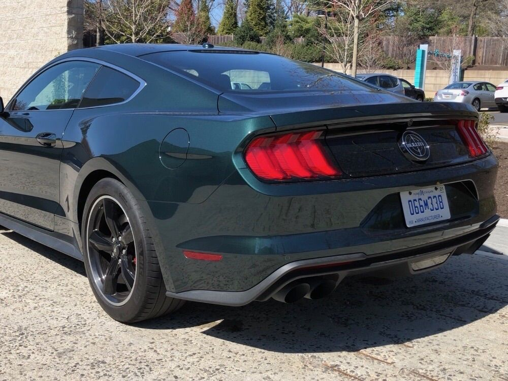 "<p><strong>2019 Ford Mustang Bullitt</strong></p> <p><strong>Price:</strong> Estimated $51,485 as driven</p> <p>Fantastically retro-modern pony car, which is a nod to the car driven by Steve McQueen in the 1968 movie ""Bullitt."" The original was displayed on the National Mall last year.</p>"