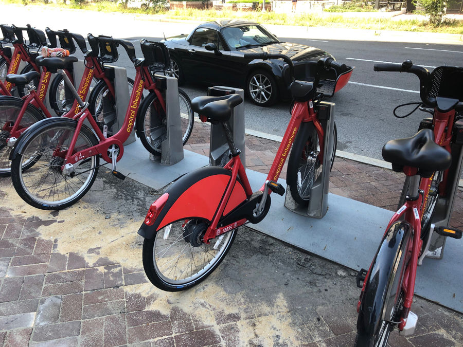 new Capital Bikeshare bikes