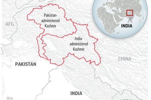 The Latest: UN chief urges no action on Kashmir status