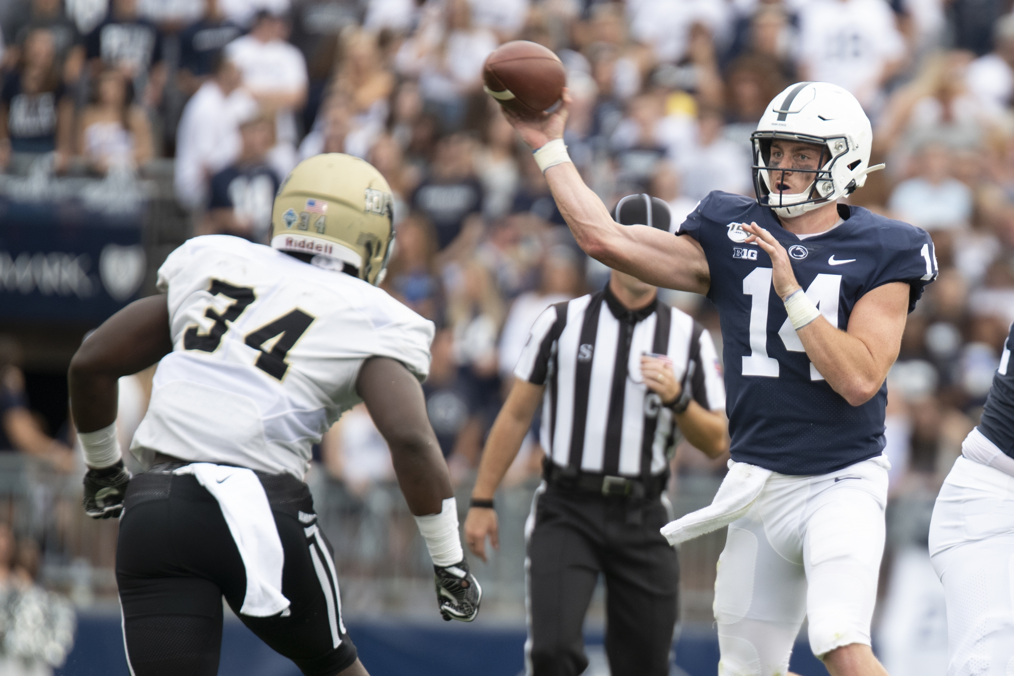 Clifford stars, No. 15 Penn State's defense hammers Idaho ...