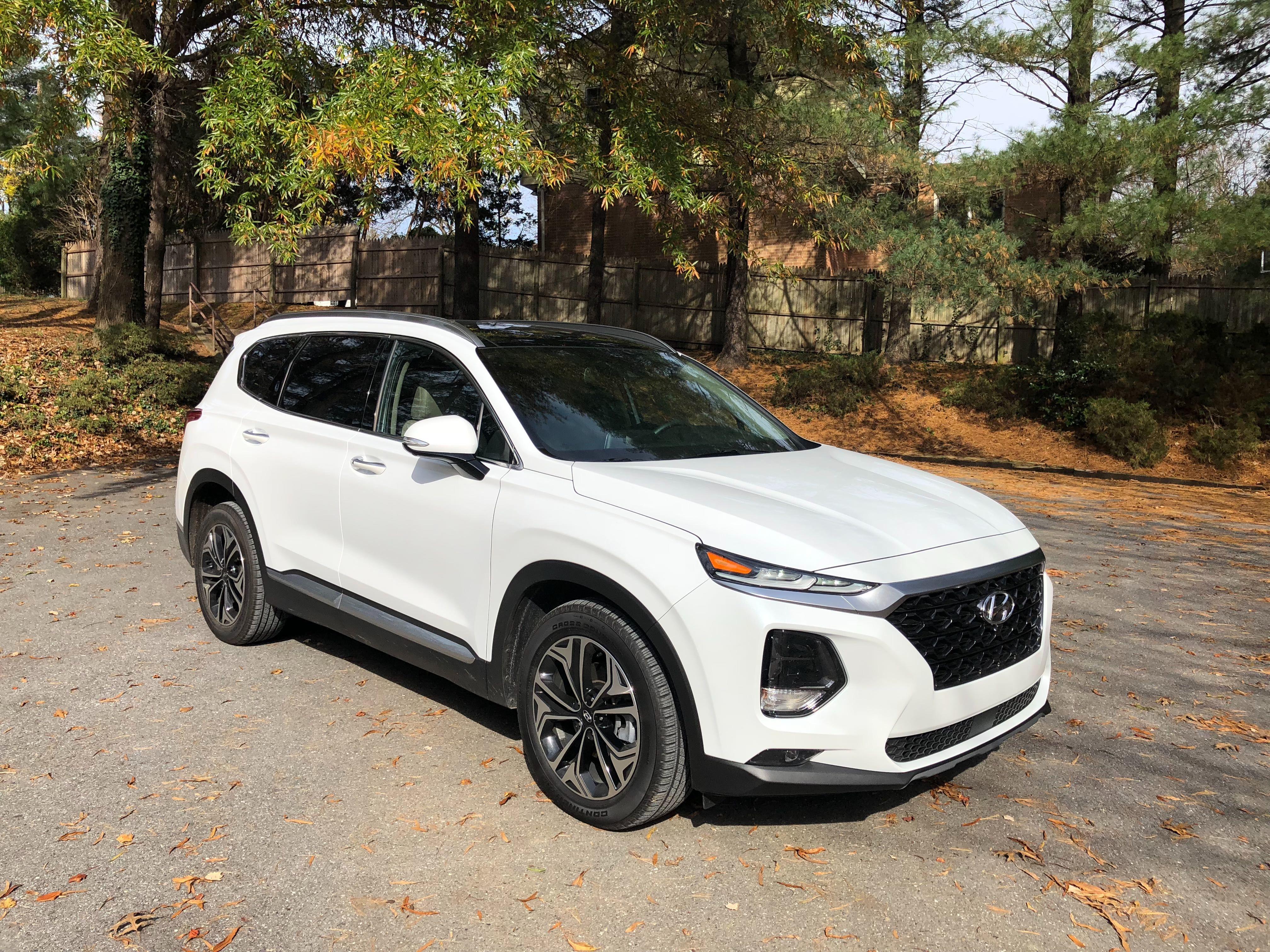 Car Review 2019 Hyundai Santa Fe Ultimate Values Luxury