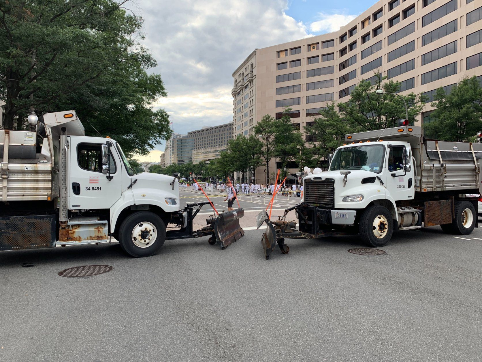 <p>Davis, the event&#8217;s promoter, said security is an important consideration for an event that attracts thousands of people to a contained area. But most of the revelers said they felt safe, and the security checkpoints and massive road-salting trucks more familiar with Pennsylvania Avenue&#8217;s cross streets in January were an understandable and minor inconvenience.</p>
