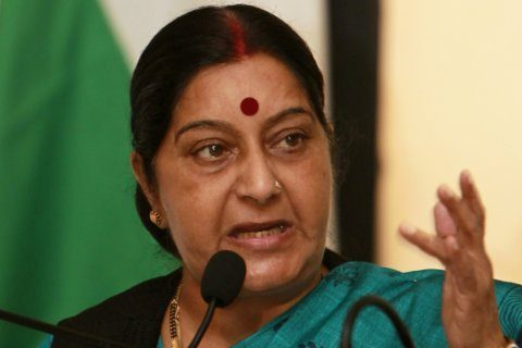 India's former foreign minister, Sushma Swaraj, dies at 67
