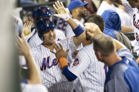 Mets open crucial homestand with 9-2 win over Indians
