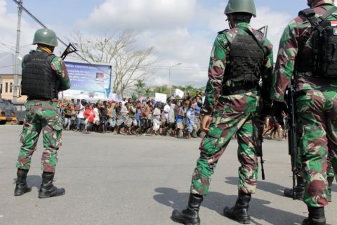Indonesia beefs up security amid violent West Papua protests
