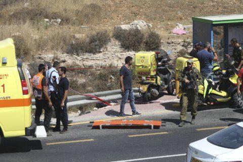 Police: Palestinian killed, 2 Israelis hurt in car attack