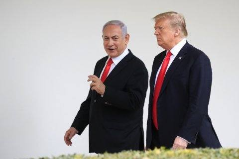As Trump questions loyalty of US Jews, Israeli PM is quiet