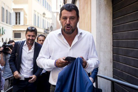 Italian politicians try to keep election, Salvini, at bay