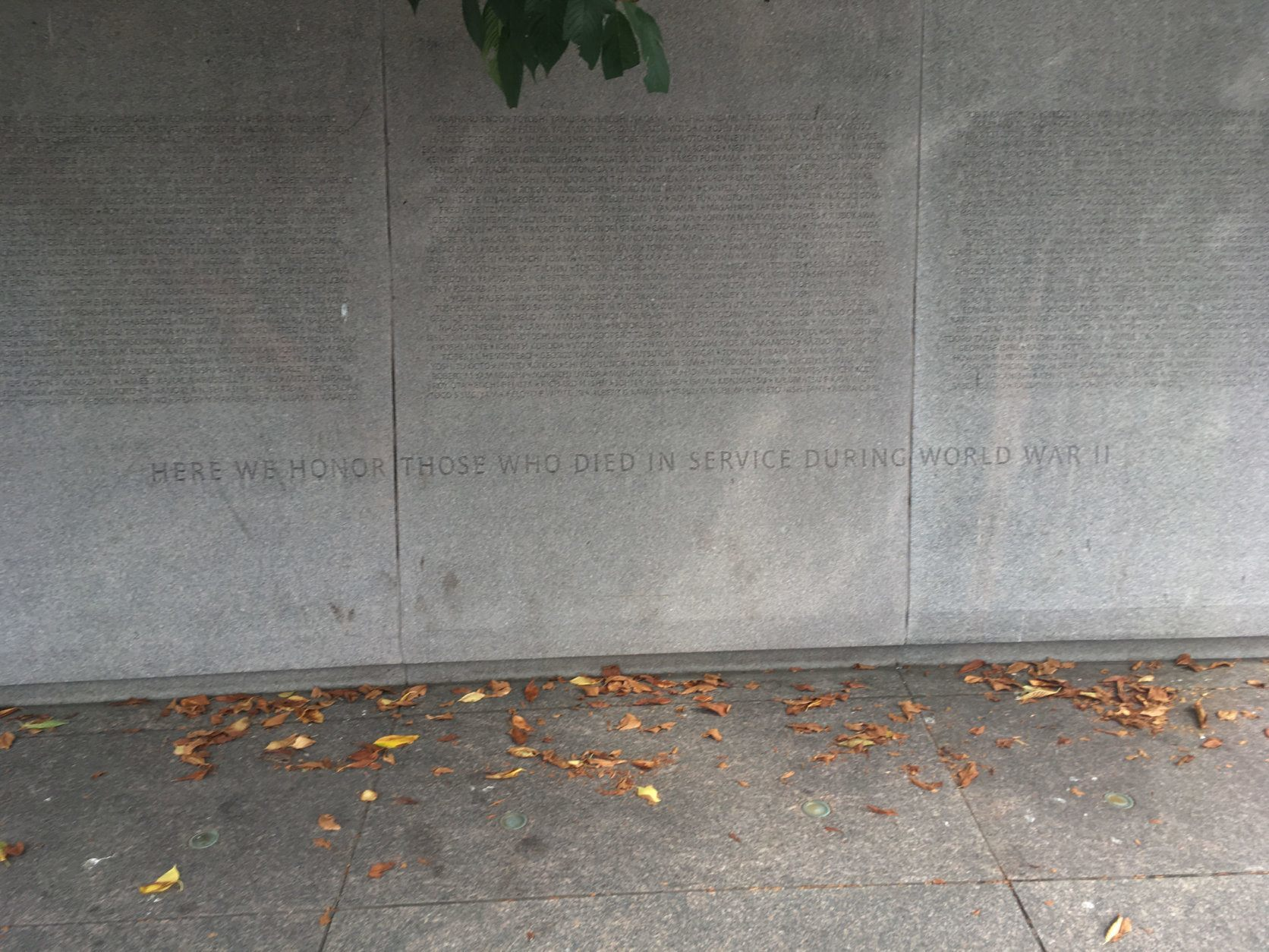 <p>About 800 Japanese-Americans were killed fighting for a country that held members of their ethnic group in captivity; their names are on the D.C. memorial.</p>