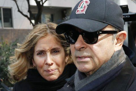 Nissan ex-chair's wife denounces restrictions on contacts