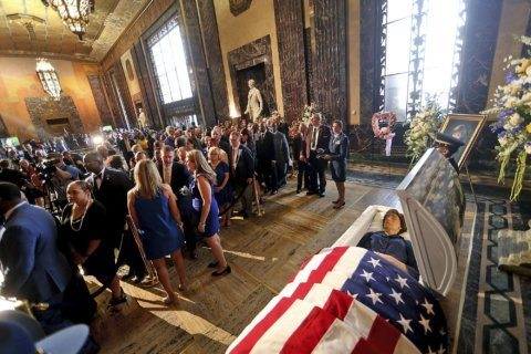 Memorials for former governor Blanco move to her Cajun home