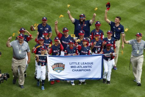 New Jersey Little Leaguers from proud to be 'Troopers'