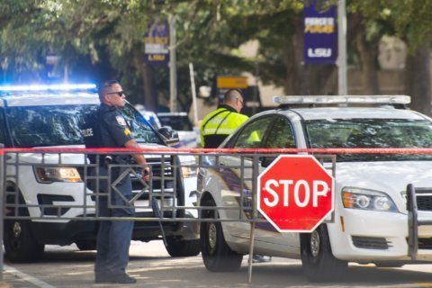 Louisiana university urges vigilance after false gun alarm