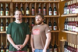 Locavino owners Justin Wallace and Jarrod Jabre