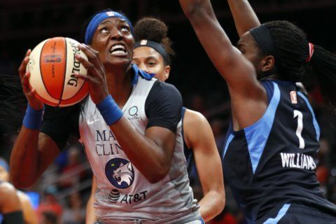 Collier's 22 points, 11 boards, 5 assists lead Lynx by Dream