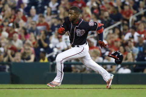 Rendon 2-run single in 9th lifts Nationals past Marlins 7-6