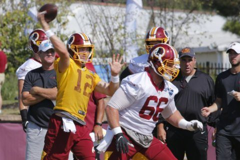 Redskins continue to focus on QBs as preseason opener approaches