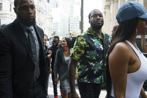 The Latest: Meek Mill plans to continue prison reform push