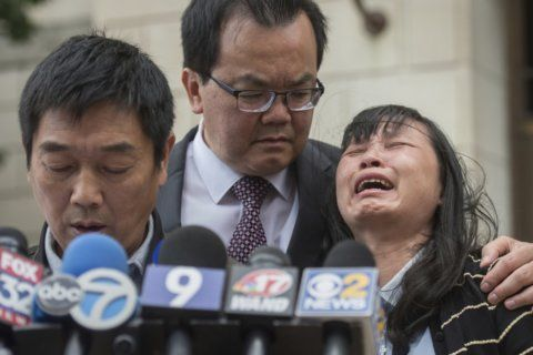 Slain Chinese scholar's family to give $20K for help in case