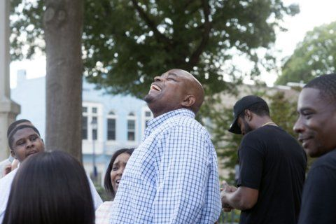 Freed man says he relied on mother, God while behind bars