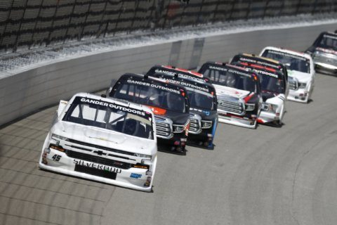 Hill closes NASCAR Trucks Series regular season with victory