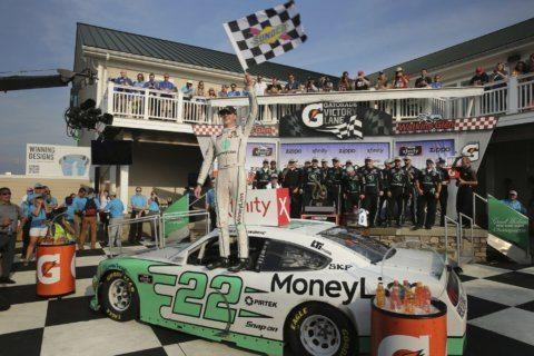 Austin Cindric wins NASCAR Xfinity race at The Glen