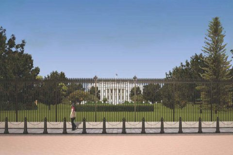 White House fence construction leads to larger Pennsylvania Ave. closure