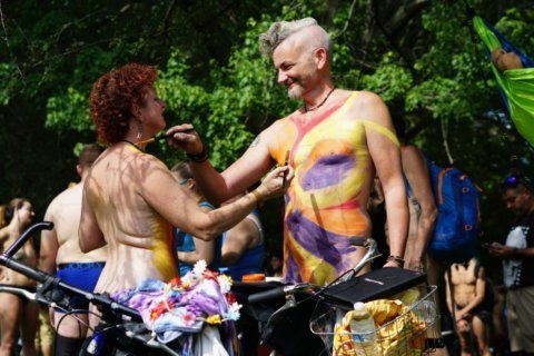 Strip down, saddle up: Naked bikers hit Philadelphia streets