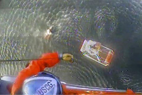 Pilot says plane crash into California ocean was no stunt