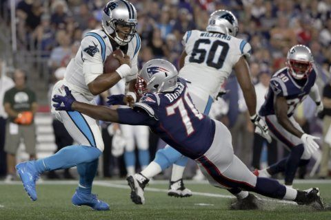 Newton leaves Panthers' preseason loss with foot injury