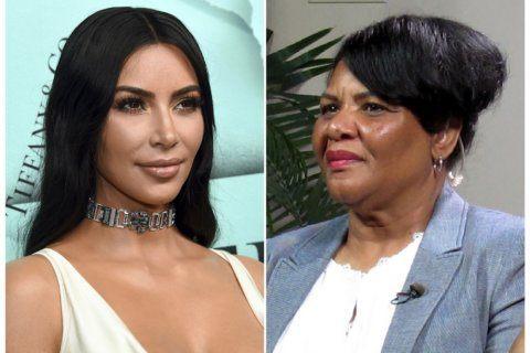 Alice Marie Johnson hawks Kim Kardashian West shapewear line