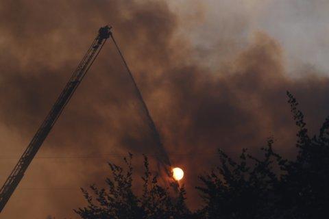 The Latest: Investigators: Portland fire intentionally set
