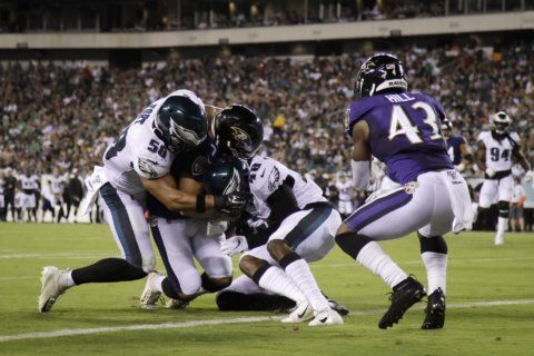 Trace McSorley impresses in Ravens' 26-15 win over Eagles