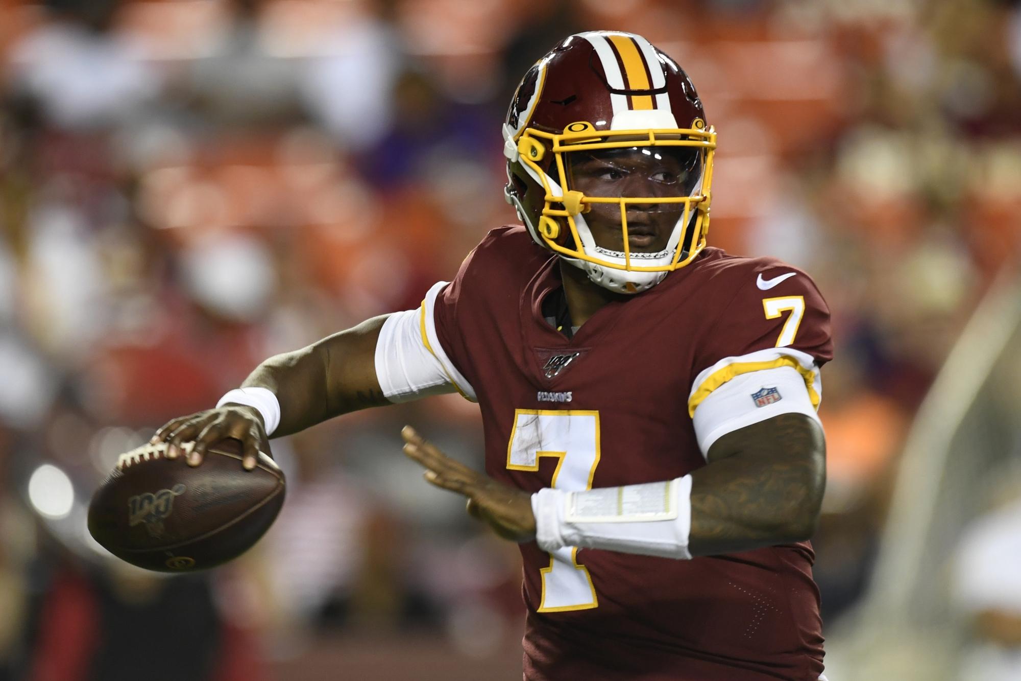 purchase cheap 4223f 8e14b Redskins QB Dwayne Haskins flashes skill vs. Ravens | WTOP