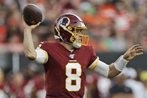 Case Keenum will be starting QB for Redskins' season opener