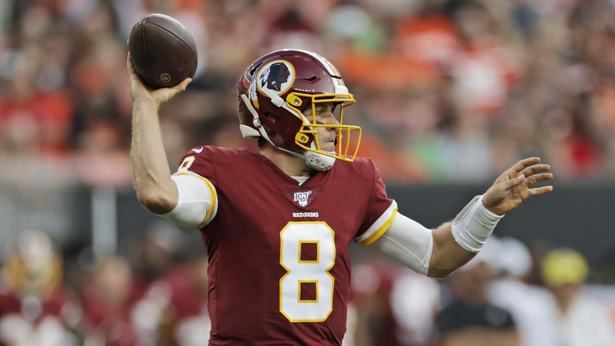 Case Keenum will be starting QB for Redskins' season opener