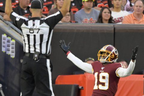 Redskins still trying to pare down passing options