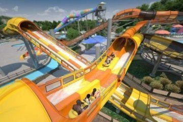 World's first launched water coaster, Cheetah Chase, coming in 2020