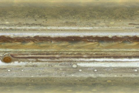 Jupiter's new portrait snapped by Hubble