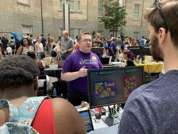Games everywhere at the fifth annual SAAM Arcade.