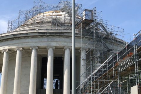 What it takes to repair the Jefferson Memorial