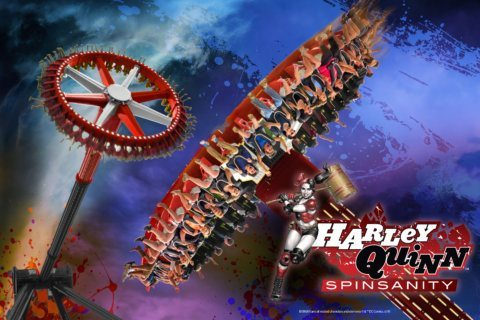 Six Flags' new Harley Quinn-themed ride coming in 2020