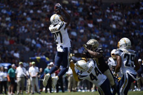 Chargers safeties Phillips, Watkins ready to step up