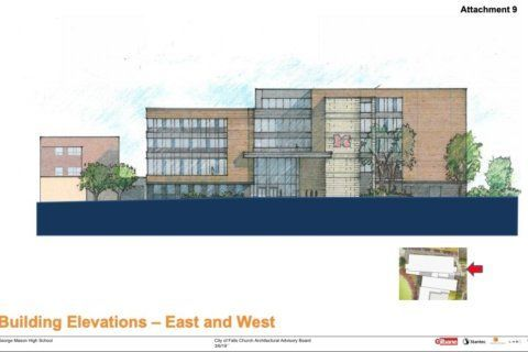 Work on new George Mason High School moves forward in Falls Church